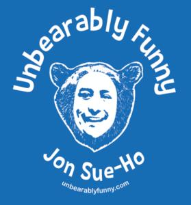 Unbearably Funny Logo Square